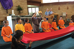 Children's liturgies.